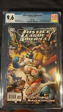 Justice league of America 10 CGC 9.6 Jimenez Variant Society Legion Wally West