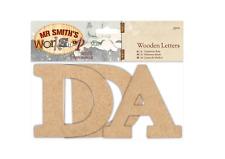 Wooden MDF Letters (3pcs) - Mr Smith's Workshop - DAD
