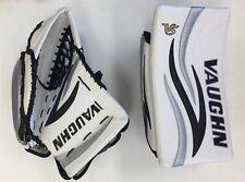 Vaughn 7460 SR ice Hockey Goalie Blocker/Glove set full right Velocity V5 senior