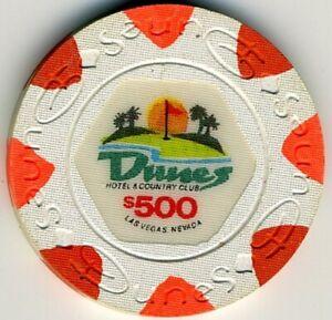 Dunes Casino $500 Chip, Las Vegas, NV F3615