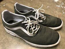New listing Vans Iso Mesh Mens Tennis Shoe Size 11 Green