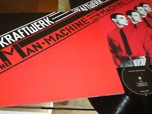 KRAFTWERK - The Man Machine - LP / 33 giri 1978 + Blocket Digital Master 2009