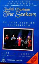 THE SEEKERS, JUDITH DURHAM - VHS & AUDIO CASSETTE TAPE - 25 YR REUNION VGC Music