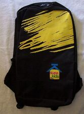 SUPA KIDS Brand BACKPACK....BLACK with Yellow Logo...New Item...Last one left
