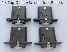 Adjustable Sliding Security/ Fly Screen Door Rollers  ( 2 Pair ) Free Postage