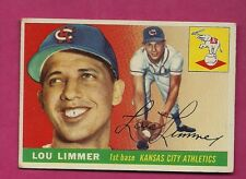 1955 TOPPS # 54 ATHLETICS LOU LIMMER VG+  CARD (INV# A3675)