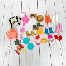 Barbie Accessories Lot Boots Outdoor Camping Adventure