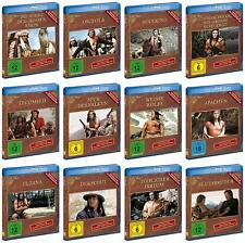 12 Filme GOJKO MITIC Gesamtbox INDIANERFILME DEFA WESTERN 12 BLU-RAY Collection