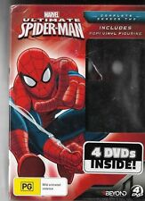 ULTIMATE SPIDERMAN SEASON 2 DVD & POP VINYL FIGURE - 4 DISC DVD SET Region 4 MIB