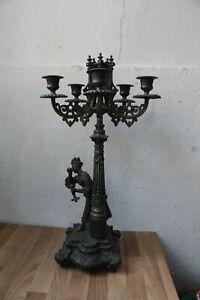 (Art.:N-1182) Antiker Leuchter Spritzguss