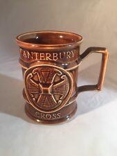 More details for canterbury cathedral commemorative mug canterbury mug holkham made england