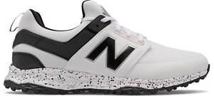 New Balance NB Fresh Foam Links SL Golf Shoes 4000WK White/Black Men's New