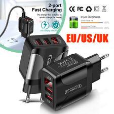 MIni Quick Charge 2Port USB 4.2A Phone Travel Fast Charger Adapter US/EU/UK plug