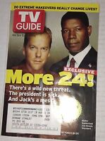 Tv Guide Magazine Kiefer Sutherland October 18-24, 2003 042417nonrh
