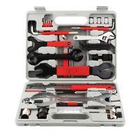 46PCS Complete Bike Bicycle Repair Tools Tool Kit Set Home Mechanic Cycling