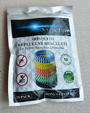 Mystic Flare Mosquito Repellent Bracelets No Deet 300 Hours Protection 10 Pack