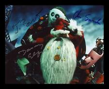 NIGHTMARE BEFORE CHRISTMAS AUTOGRAPHED SIGNED & FRAMED PP POSTER PHOTO