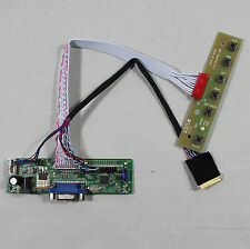 VGA LCD Driver board work for 10.1inch 14inch 15.6inch 1366x768 LP156WH2 lcd