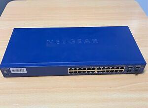Netgear Prosafe 24 Port Gigabit Stackable Smart Switch GS724TS