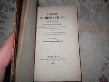 RARE Histoire Numismatique de l'eveche et Principaute de liege Numismatics 1831