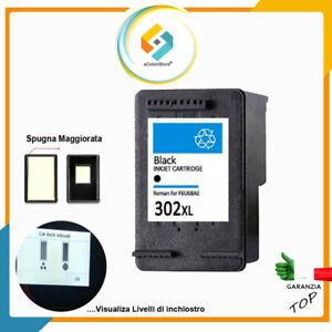 Cartuccia per HP 302 XL Nero Envy 4520 Deskjet 2130 3639 Officejet 3830 5232