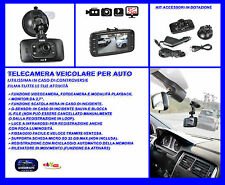 Telecamera auto Videocamera 1080 Full HD registratore guida fotocamera per filma