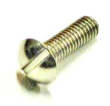 "Mushroom Head Screw 2 BA x 5/8"" CEI Stainless Steel Triumph Norton BSA UK Made"