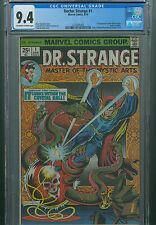 Doctor Strange 1 CGC 9.4 Origin Dr. Silver Dagger Thor Avengers Marvel Movie 1st