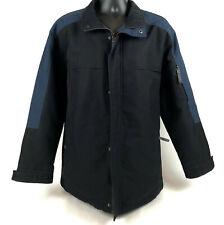 Mens L Johnston & Murphy Bib Insert Jacket Car Coat Parka Winter Dress