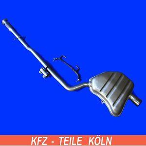 Mini - Mini / Mini Cabriolet - Cooper - 1.6  Mittel + Endschalldämpfer Auspuff