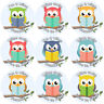 144 Reading Owls 30 mm Reward Stickers for School Teachers, Parents, Nursery