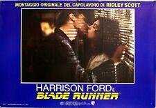 "1992 * Locandina Fotobusta ""Blade Runner - Ridley Scott, Harrison Ford, Rutger H"