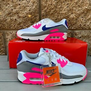 Nike Air Max III White Pink Blast (W) Women's Athletic Shoes CW1360  CT1887-100