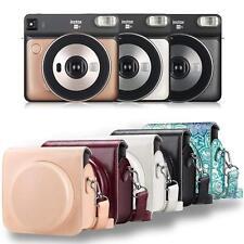 For Fujifilm Instax Square Sq6 Instant Camera Case Bag Protective Cover w/ Strap