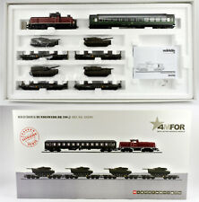 MARKLIN HO SCALE 26290 4MFOR DIGITAL DB MODERN GERMAN ARMY TRANSPORT SET