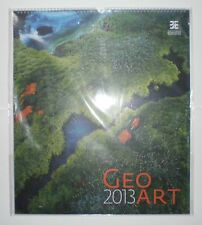 Geo Art 2013 – calendar with amazing pictures of our Earth – RARE – Like New