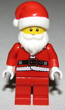LEGO NEW SANTA CLAUS CHRISTMAS XMAS RED HOLIDAY SERIES MINIFIGURE WITH BEARD