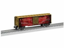 LIONEL 6-83175  2016 LIONEL CHRISTMAS MUSIC BOX CAR 12 SONGS BRAND NEW
