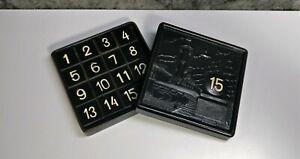 Vintage Game at 15 Fifteen Taken Puzzle KZ Conundrum Toy Black USSR Soviet UK