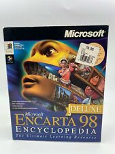 Microsoft Encarta 98 Encyclopedia - Open Box