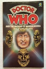 Dr Who Masque Of Mandragora 1st Ed. Target 1977 Philip Hinchcliffe Arch Logo NMV