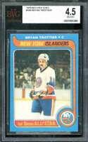 Bryan Trottier Card 1979-80 O-Pee-Chee #100 BGS BVG 4.5