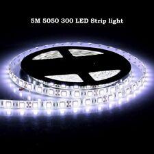 Bright 12V 5M 16.4ft 5050 RGB Waterproof SMD 300 LED Flexible Strip light USA