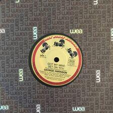 "George Harrison - Got My Mind Set On You 45rpm 7"" Vinyl Record Australia 1987"
