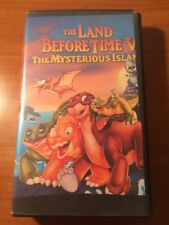 The Land Before Time V: The Mysterios Island (VHS, Cut Box) ...shelf