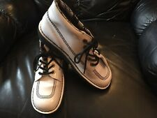 Authentic Original KICKERS ankle Shoes, White size 7