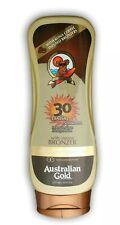 Australian Gold/SPF 30 Sunscreen Lotion with Bronzer/Sonnenschutz/Sonnencreme