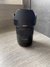 sony 55mm f1.8 fe zeiss