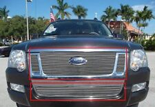 Billet Grille Insert 07 - 10 Ford Explorer Sport Trac Front Grill Aluminum Combo