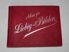 Liebig - Bilder Album 40 Serien + 40 kostenlose extra Bilder  Widmung von 1897